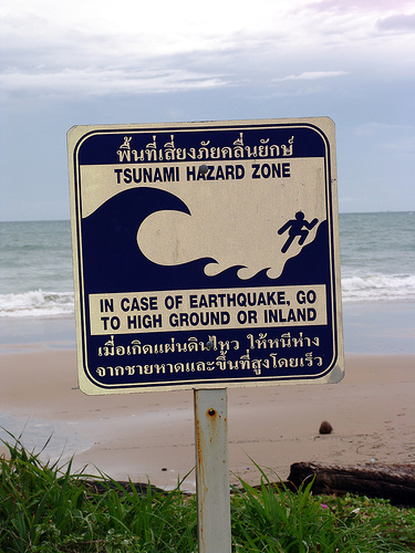 Tsunami Hazard Zone