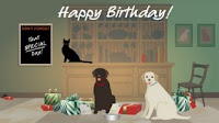 Website of the Week- Jacquie Lawson's Fab eCards