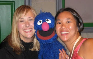 Bloggy Vacation, BlogHer, and Meeting Grover