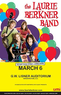 DC Readers: Laurie Berkner Band Coming to Lisner in March (w. giveaway)