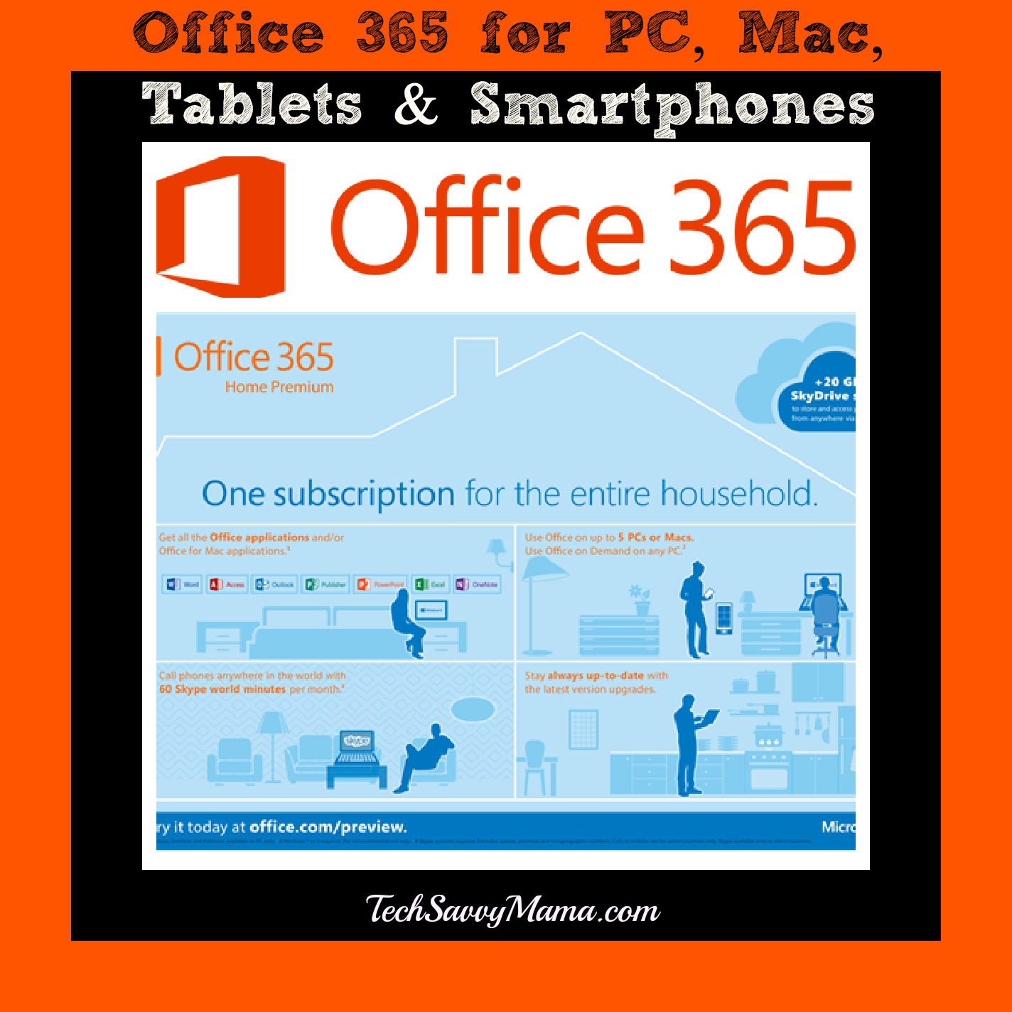 introducing office 365 home premium streamline work across devices platforms tech savvy mama. Black Bedroom Furniture Sets. Home Design Ideas