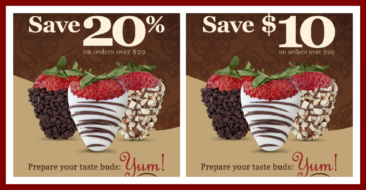 Sharis Berries Coupons. Whenever you need a sweet gift for a loved one's anniversary or birthday, you may come to Sharis Berries. It offers gourmet chocolates, cookies, caramel and coffee, cake pops and more special gift baskets with reasonable prices.