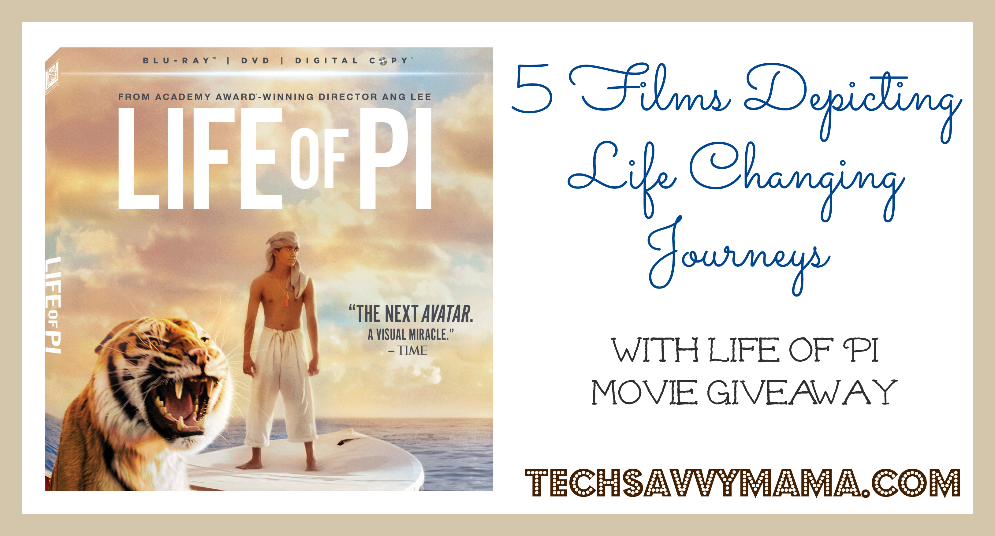 5 films depicting life changing journeys w life of pi for Life of pi character development