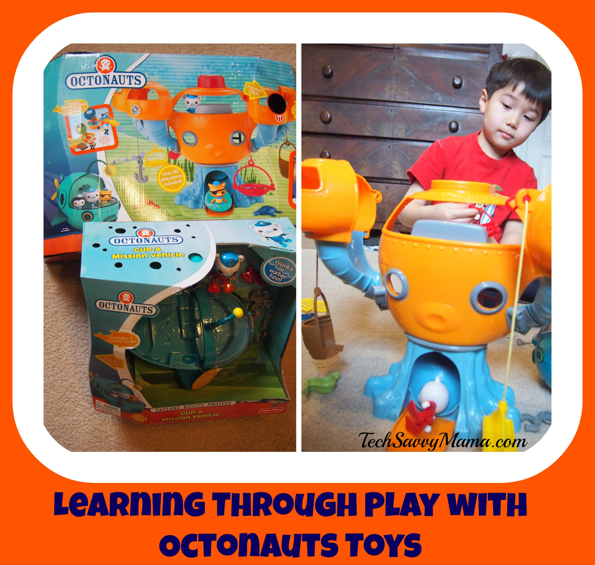Learning Through Play with Octonauts Toys from Fisher Price (w. giveaway)