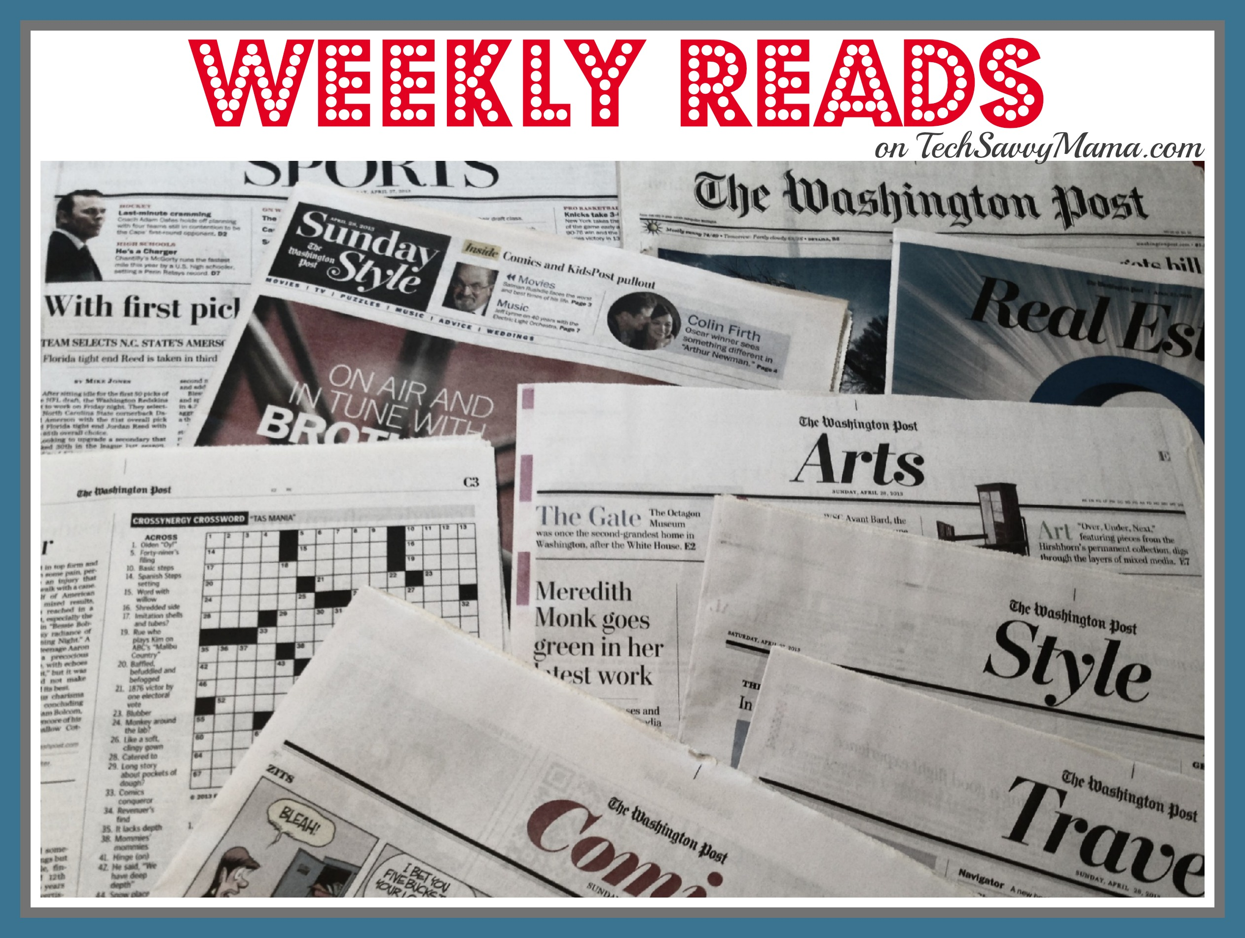 Weekly Reads 9.8.13
