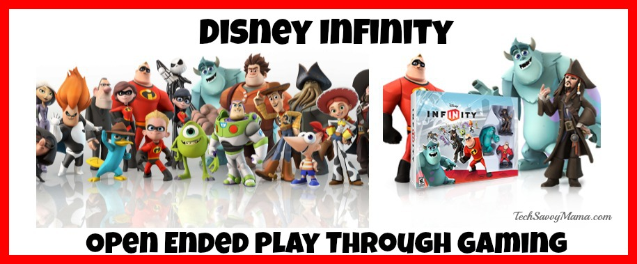 Disney Infinity Recreates the Joy of Open Ended Play Through Video Gaming This Summer