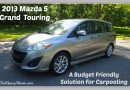 Mazda 5: Budget Friendly Solution for Carpooling