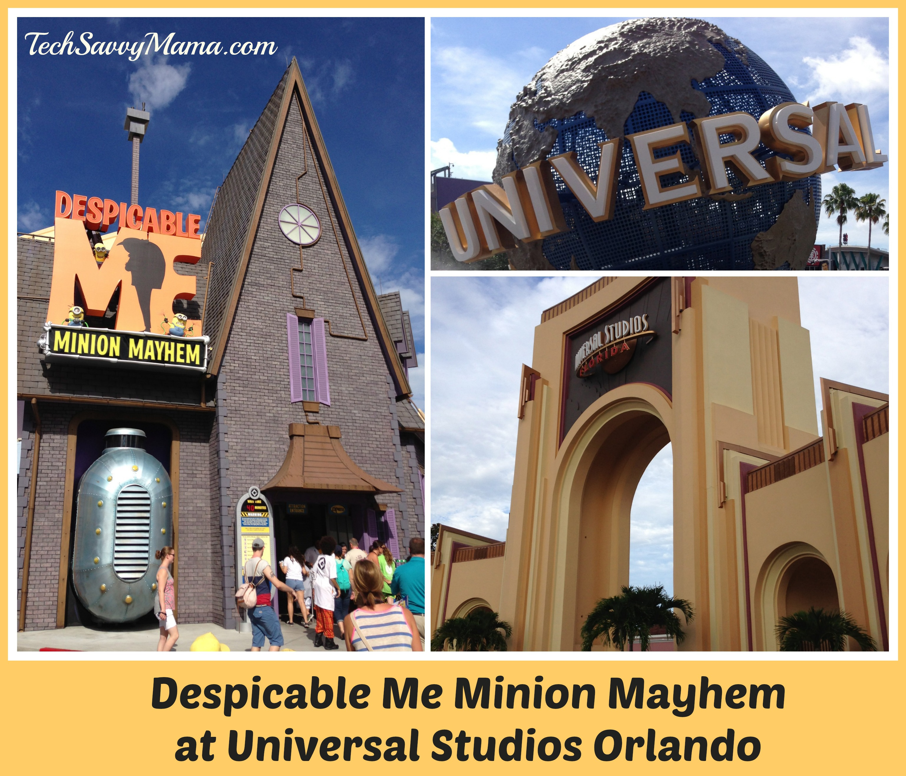 Despicable Me Minion Mayhem Ride at Universal Studios Orlando During #DM2Orlando