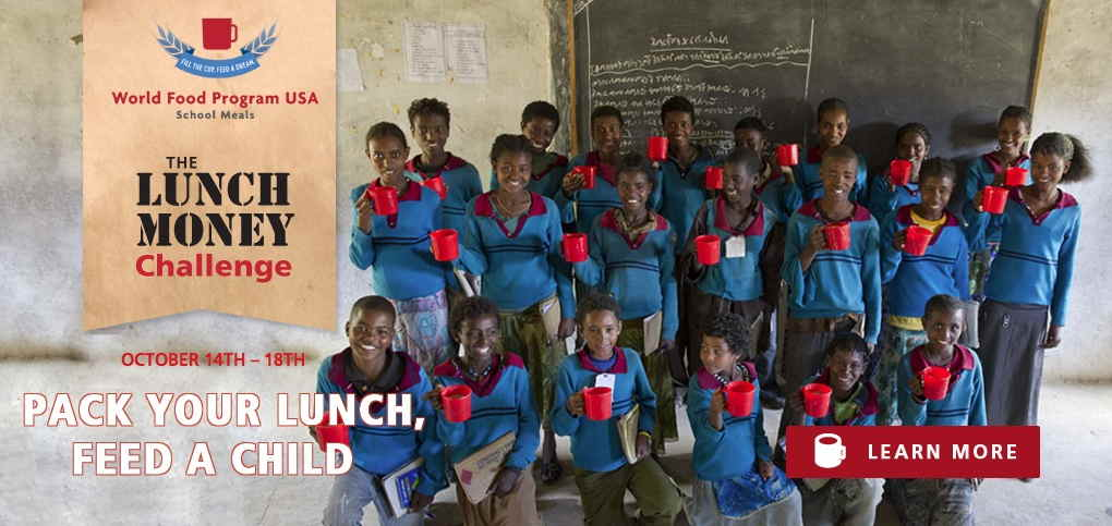 #FeedaDream of Education with WFP USA's Lunch Money Challenge {sponsored}