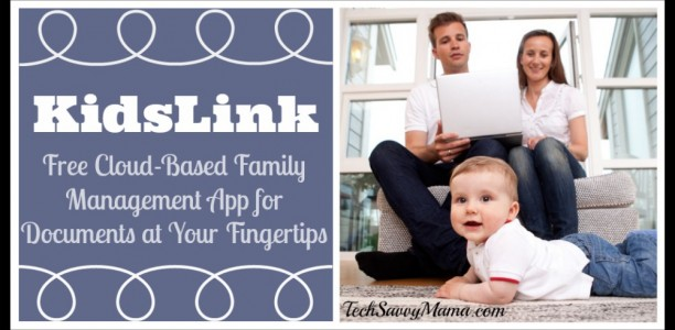 KidsLink: Free Cloud-Based Family Management App for Documents at Your Fingertips {sponsored}