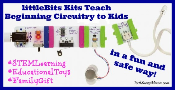 LittleBits Kits Teach Beginning Circuitry to Kids + Discount! sponsored.