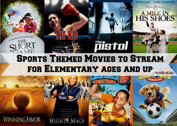Sports Themed Movies for Elementary Ages
