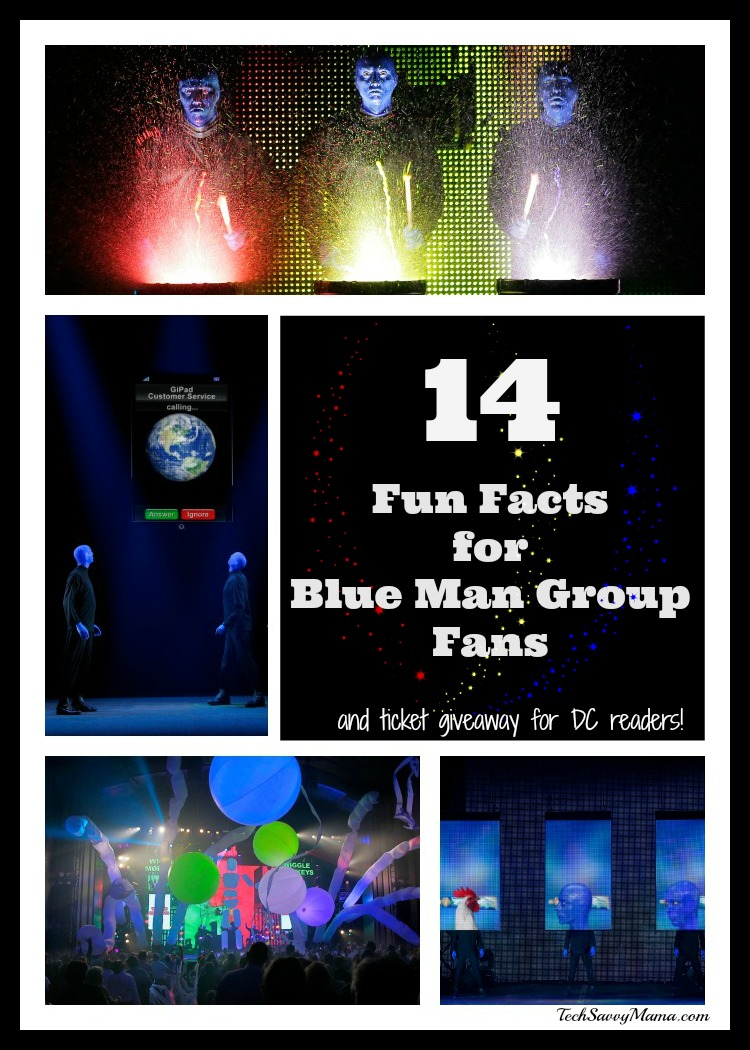 Blue Man Group Fun Facts and DC Ticket Giveaway