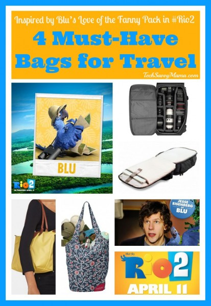 4 Must-Have Bags for Travel Inspired by Blu's Love of the Fanny Pack in #Rio2