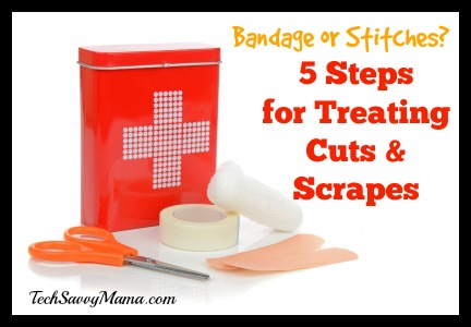5 Steps for Treating Cuts and Scrapes