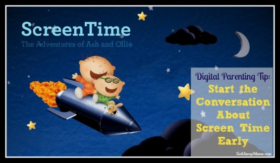 Ash and Ollie Screentime App - Way to Start the Screentime Conversation Early