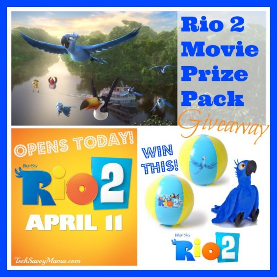 #Rio2 Movie Prize Pack Giveaway