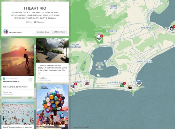 I Heart Rio Pinterest Place Board