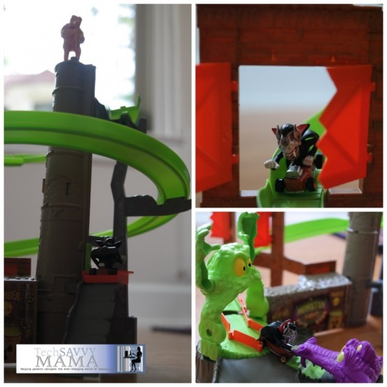 monster 500 toxic terror trap playset review