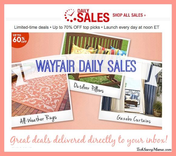 Wayfair Daily Sales Deep Discounts Delivered Directly To