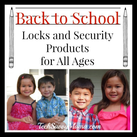 Back to School Locks and Security Products for All Ages