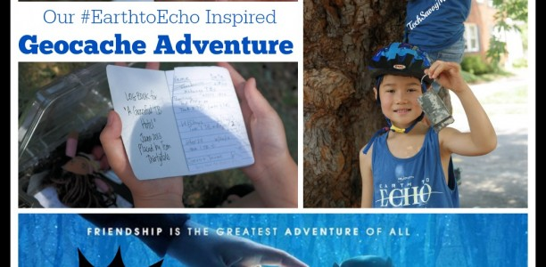 Earth to Echo Movie Review and Our Geocaching Adventure #EarthtoEcho