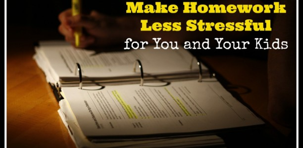 6 Ways to Make Homework Less Stressful for You and Your Kids