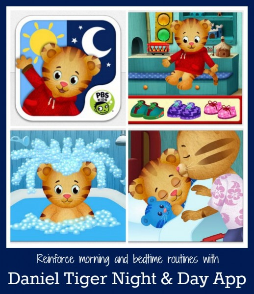 Daniel Tiger Day & Night App