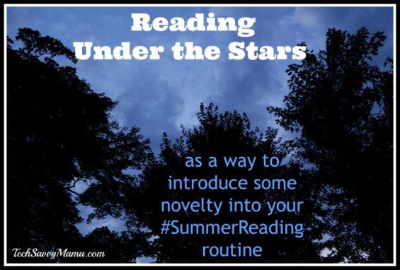 Introducing #SummerReading Novelty by Reading Under the Stars