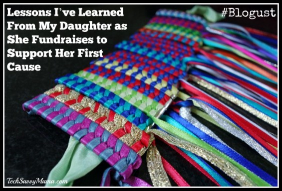 Lessons I've Learned From My Daughter as She Fundraises to Support Her First Cause #Blogust