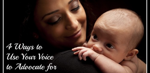 4 Ways to Use Your Voice to Advocate for Moms Around the World #2030Now