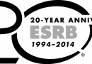 ESRB Celebrates 20 Years of Rating Video Games and Apps