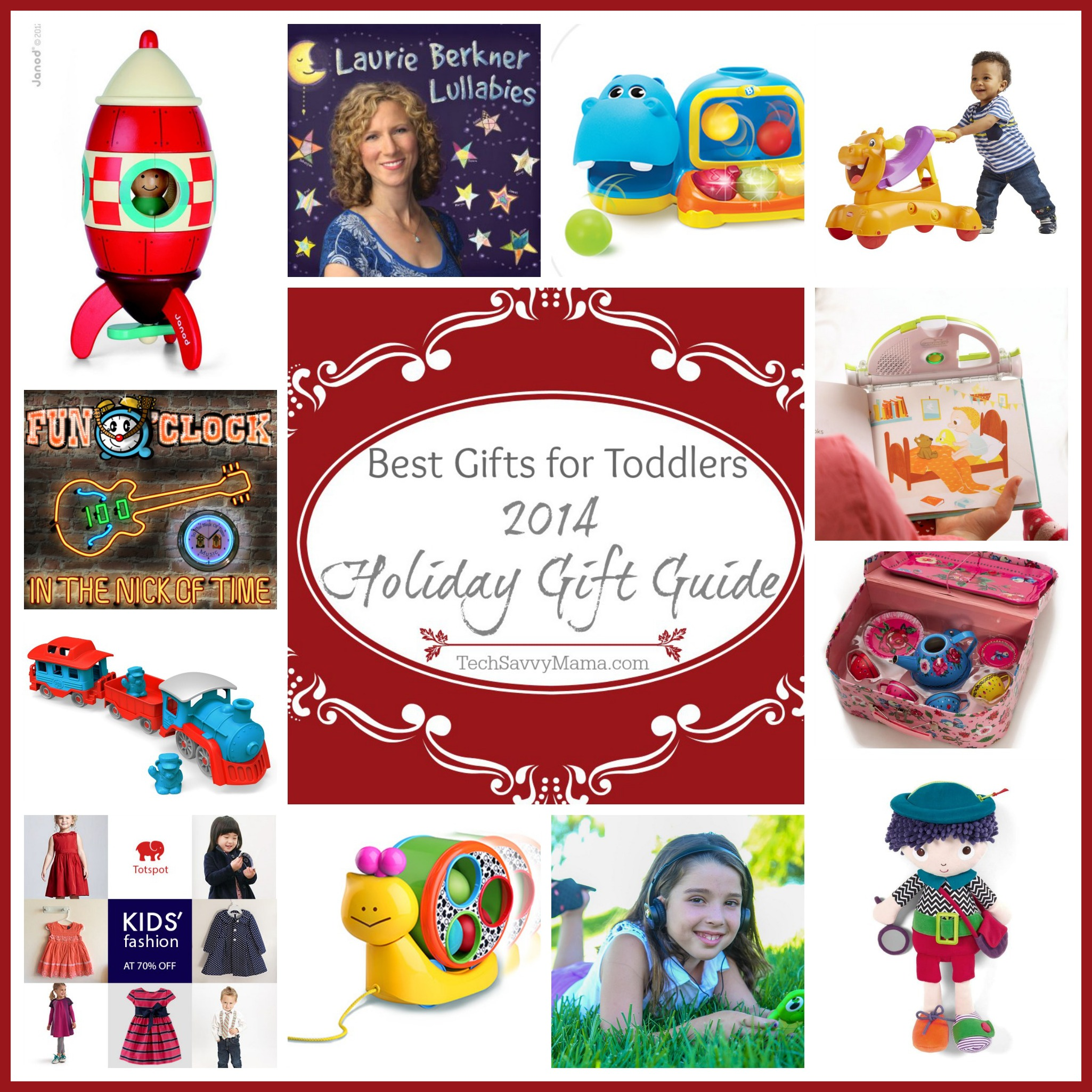 Tech Savvy Gifts 2014 gift guide: best gifts for toddlers - tech savvy mama