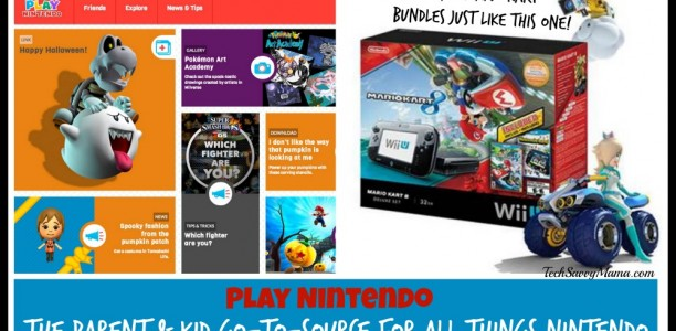 Play Nintendo: The Parent & Kid Go-to-Source for All Things Nintendo (w. giveaway)