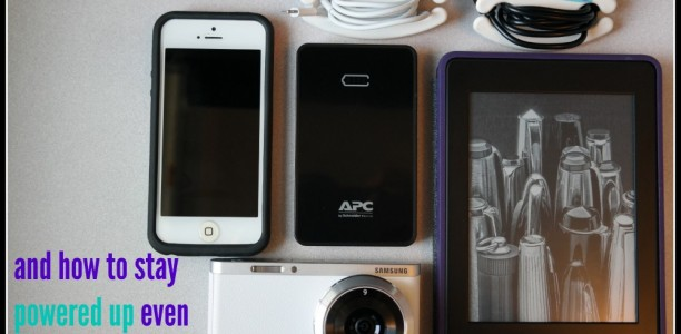 Staying Powered Up on the Go with the APC Mobile Power Pack