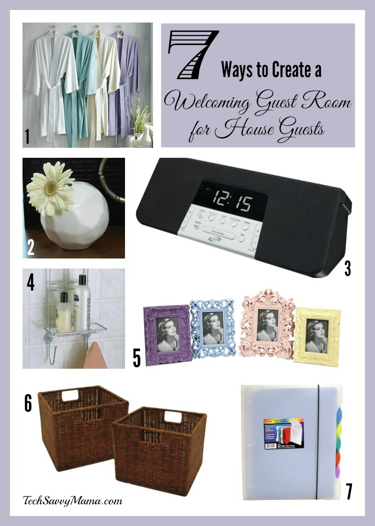 Lovely 7 Ways To Create A Welcoming Guest Room For House Guests With Items From  Wayfair.com   Tech Savvy Mama Amazing Design