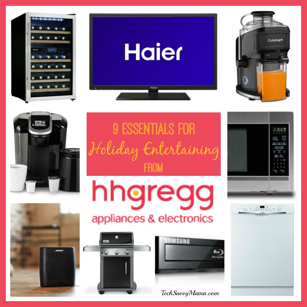 Nine essentials for holiday entertaining from hh gregg - Hhgregg appliances home kitchen ...