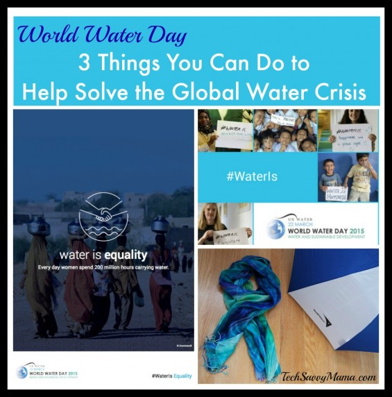 3 Things You Can Do Help Solve the Global Water Crisis to Celebrate World Water Day