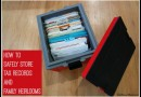 Review: Sentry Safe Guardian Storage Box Keeps Tax Records & Family Heirlooms Safe
