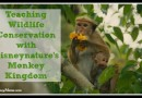 Teaching Wildlife Conservation with Disneynature's #Monkey Kingdom (opens today!)
