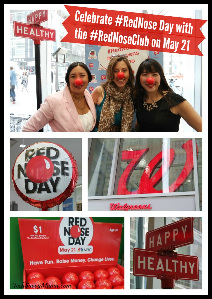 Celebrate #RedNose Day with the #RedNoseClub on May 21