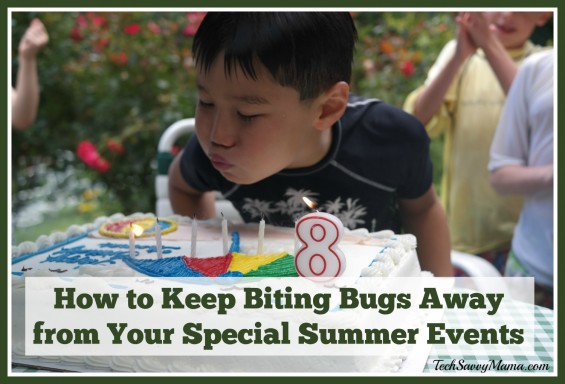 How to Keep Biting Bugs Away from Special Summer Events — TechSavvyMama.com