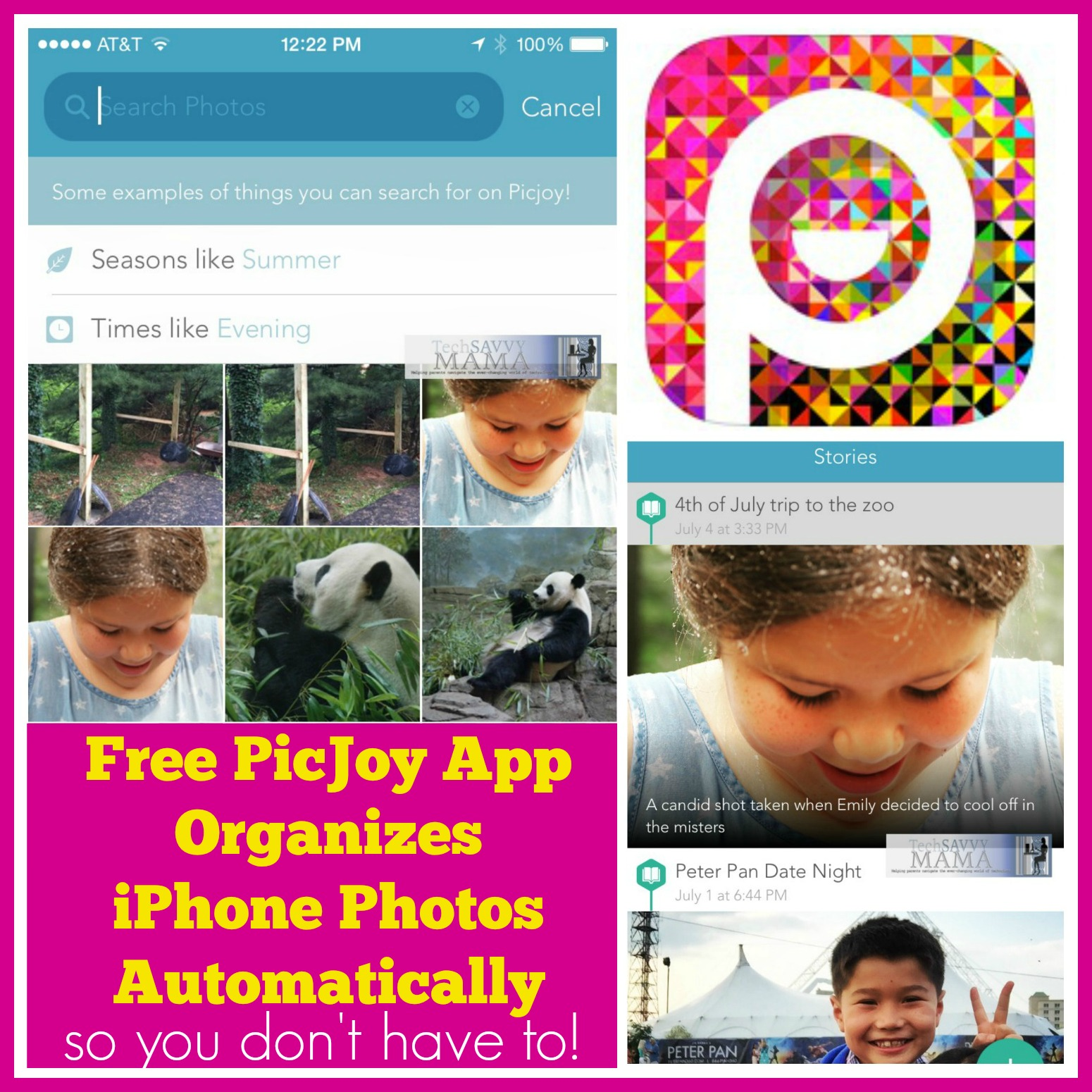 Free PicJoy App Organizes Your iPhone Photos Automatically So You Don't Have To