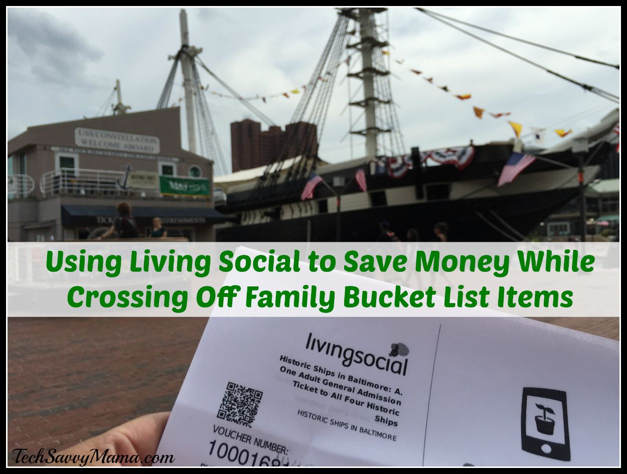 LivingSocial: Save Money While Crossing Off Family Bucket List Items at Home or When Traveling (w giveaway)