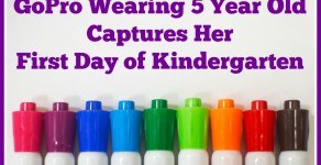 GoPro Wearing 5 Year Old Captures Her First Day of Kindergarten
