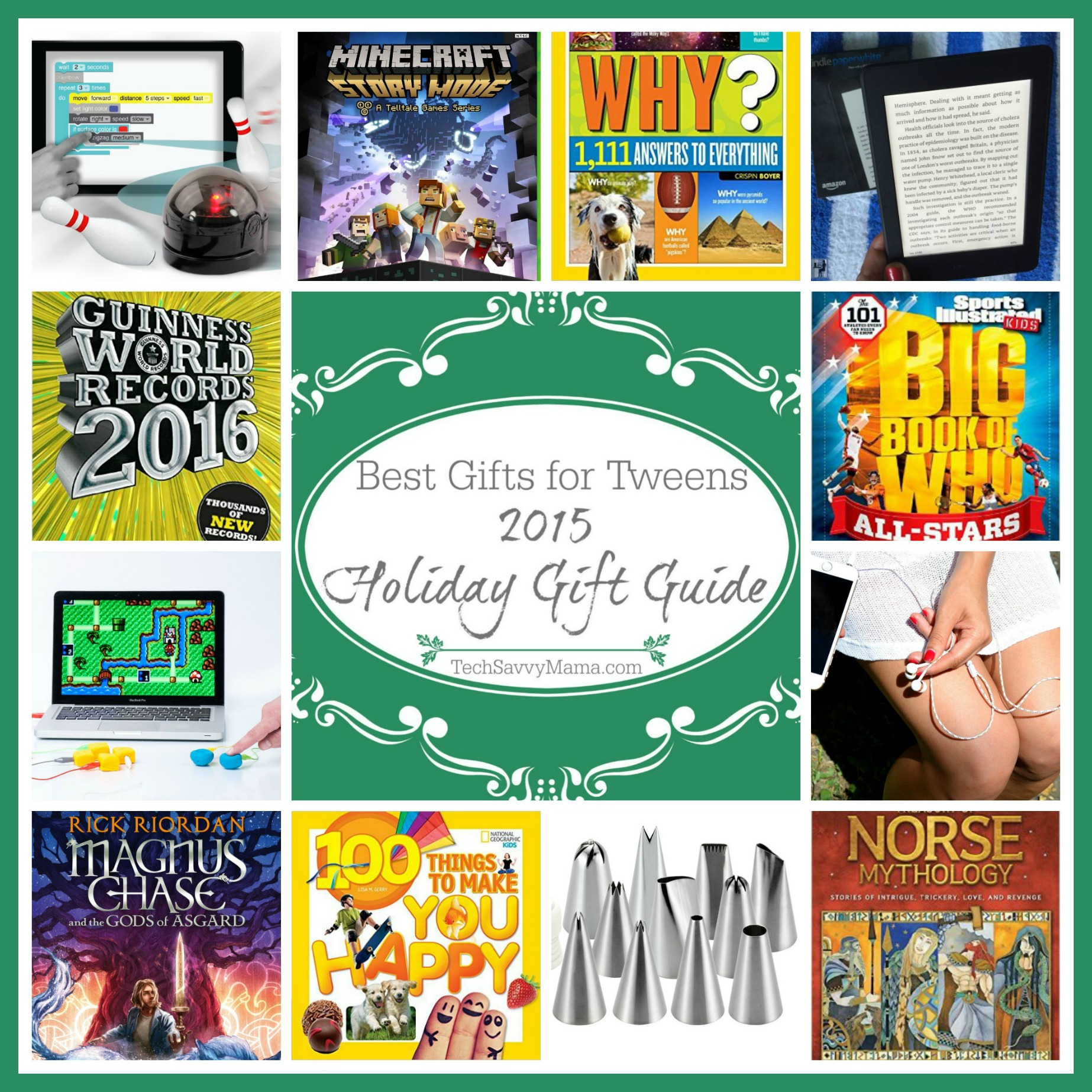 2015 Gift Guide: Best Gifts for Tweens (ages 8-12 or grades 3-6)