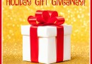My 2015 Great Holiday Gift Giveaway