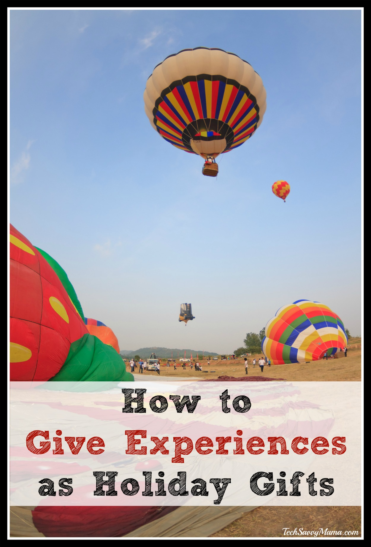 How to Give Memorable Experiences as Holiday Gifts (w giveaway)