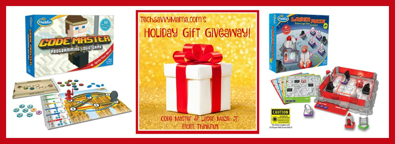 GIVEAWAY: Code Master & Laser Maze, Jr. from ThinkFun