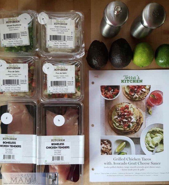 Terra's Kitchen Meal Delivery Kit Provides Fresh Healthy